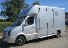 2008 57 Volkswagen Grafter 5.0 ton Coach built by J P Horseboxes. Stalled for 2 rear facing.