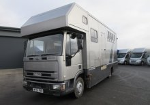 2002 Iveco 7.5ton Coach built by Cherwell horseboxes. Stalled for 3