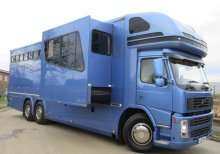 Beautiful stunning 26 ton Volvo FM Coach built by Whittingahm horseboxes, stalled for 6 with sleeping for 6 with large slide out
