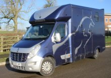 2011 Renault Master coach built by Chaighley. Stalled for 2 rear facing. LWB chassis