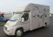 2010 59 Fiatt Ducato 4.5 Ton Coach built by Equi-Babe horseboxes. Stalled for 2 rear facing..