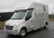 2014 Renault Master 3.5 ton. Brand New Build. Long Stall model.. LWB chassis