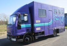 2007 56 Iveco Eurocargo 75E17 Compact Minster conversion. Stalled for 3 with smart living..