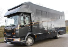 Beautiful 2010 DAF LF Automatic 7.5 ton Coach built by KM Horseboxes. Stalled for 3, sleeping for 4. Huge specification